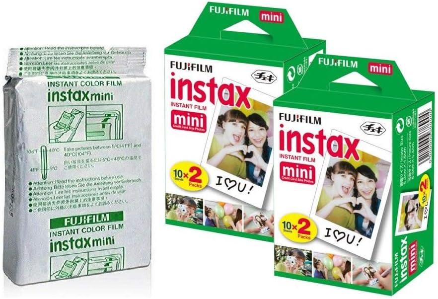 Films para Fujifilm Instax Mini. Pack de 5 con 10 films