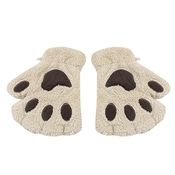 SÜßE Katze Klaue Tatze Plüsch finger Geschenk Handschuhe