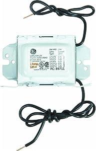 GE Lighting 68186 GEM120PH120DIY LFL Magnetic Rapid Start Ballast for 1- F20T12, F15T8, F1512 - 120V Magnetic Ballast (200H2)