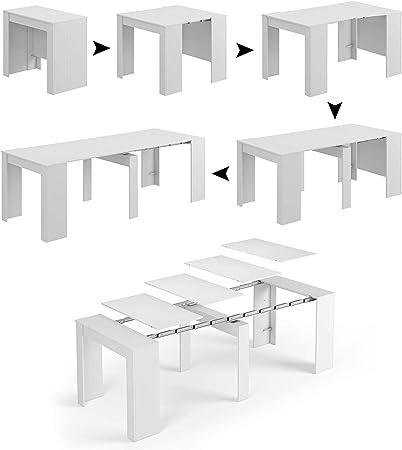 Tavolo Allungabile 4 Metri.Tavolo Allungabile Consolle Clarissa Design Elegante Moderno