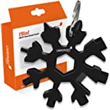 UMEINAC Gadgets,19-in-1 Snowflake Multitool for Wrench/Screwdriver/Bottle Opener/Outdoor/Camping/Hand tools with Keychain, Ga