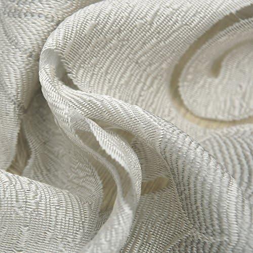 NAPEARL Cascata Finestra mantovana Trattamento Home Decorazione Soggiorno Grey