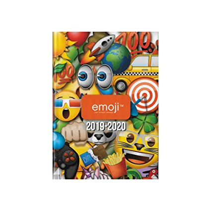 Agenda escolar 2019-2020 - 17 x 12 cm - Multilingüe - Emoji ...