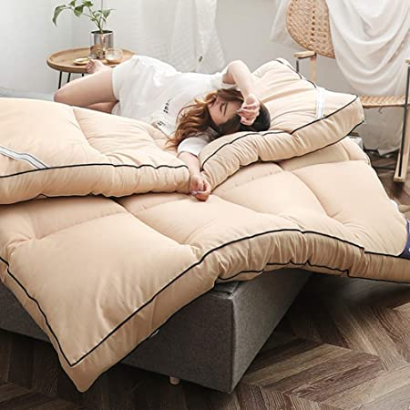 Plegable Futón Colchón Suave Almohadilla para Dormir Japonés ...