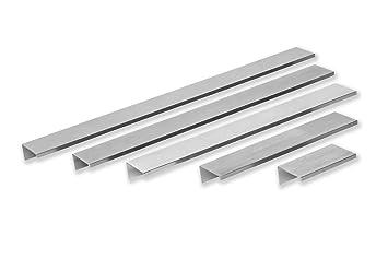 GroBartig Gedotec Möbelgriffe Edelstahl Griffleiste Für Küchen Schränke   GR10031 |  Bohrabstand 140 Mm | Küchengriffe