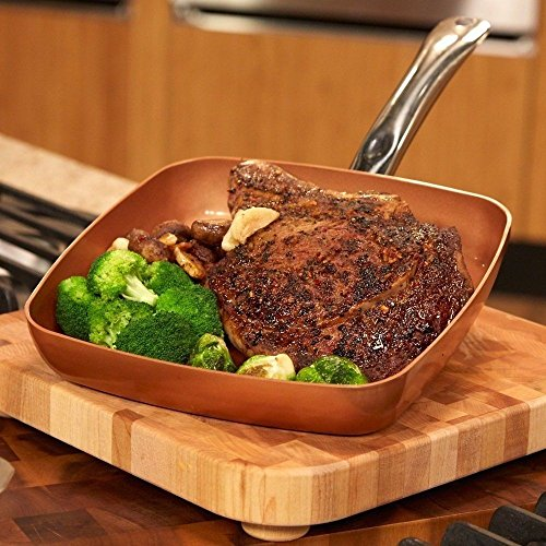 Copper Chef 9 5 Quot Square Fry Pan Healthy Food Recipes