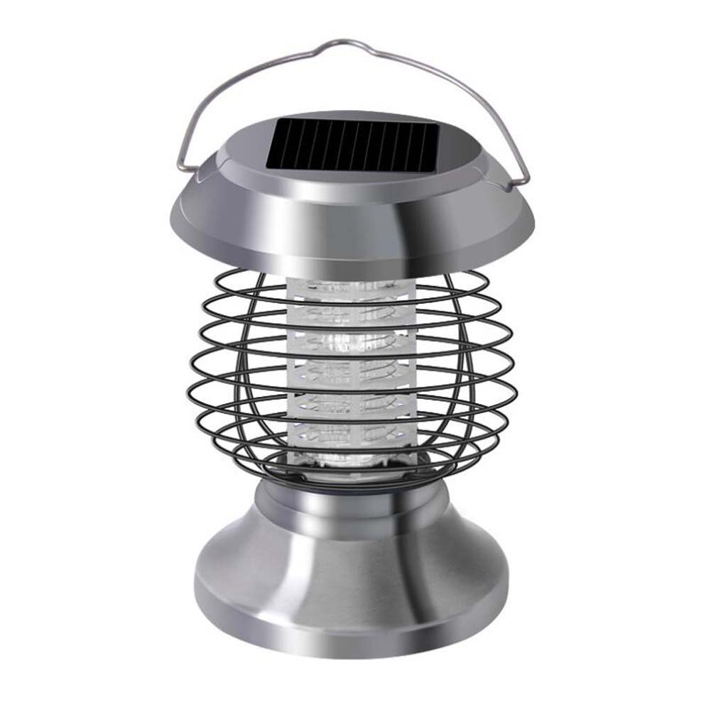 LED Solar Mosquito Killer, Bug Zapper, Intelligent Light Control Household Mosquito Lamp, No Radiation, No Chemicals Professional Outdoor Insect Killer, Lighting /Mosquito Control