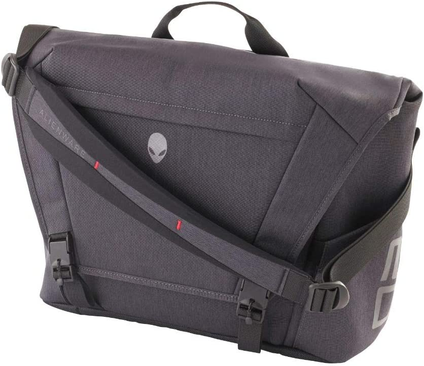 Alienware Area-51m Gaming Laptop Messenger Bag, 17.3-Inch, Gray/Black (AWA51MB17)