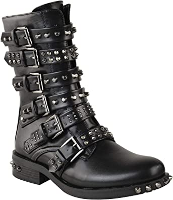 Fashion Thirsty Womens Studded Ankle