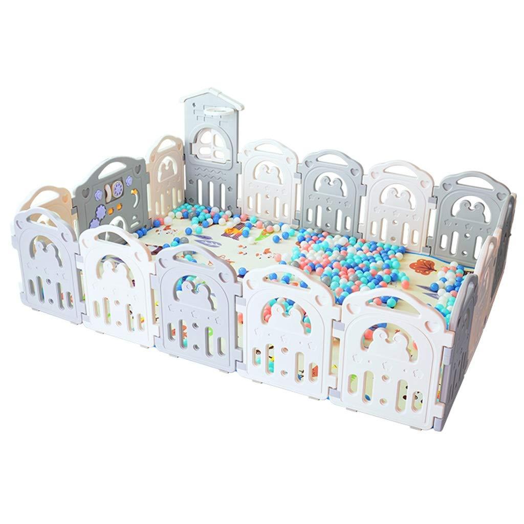 Baby Spielzeug Zimmer, Kind Zaun Sicherheitszaun Indoor Crawl Spiel Schutzzaun Baby Haushalt Ozean Ball Pool 54-84 cm