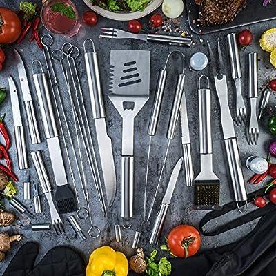 Monbix BBQ Grill Set Barbecue Accessories