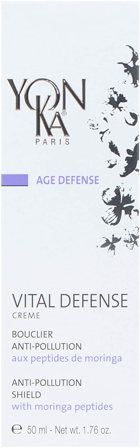 YON-KA PARIS - Age Defense Vital Defense Day Cream (1.72 oz) - Protection from Free Radicals and Pollution