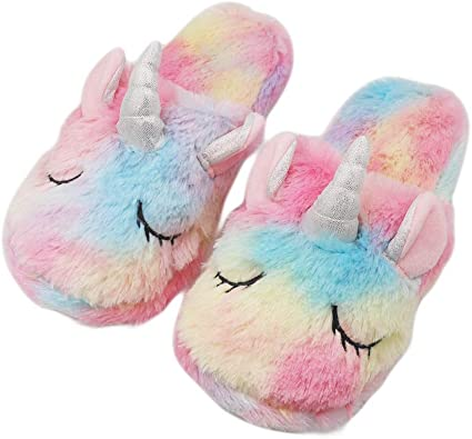 ZTL Colorful Unicorn Slippers Indoor