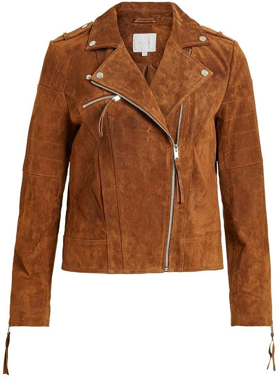 Vila Clothes Vicris Suede Jacket-Noos Chaqueta para Mujer