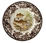 Spode Woodland Walleye Dinner Plate