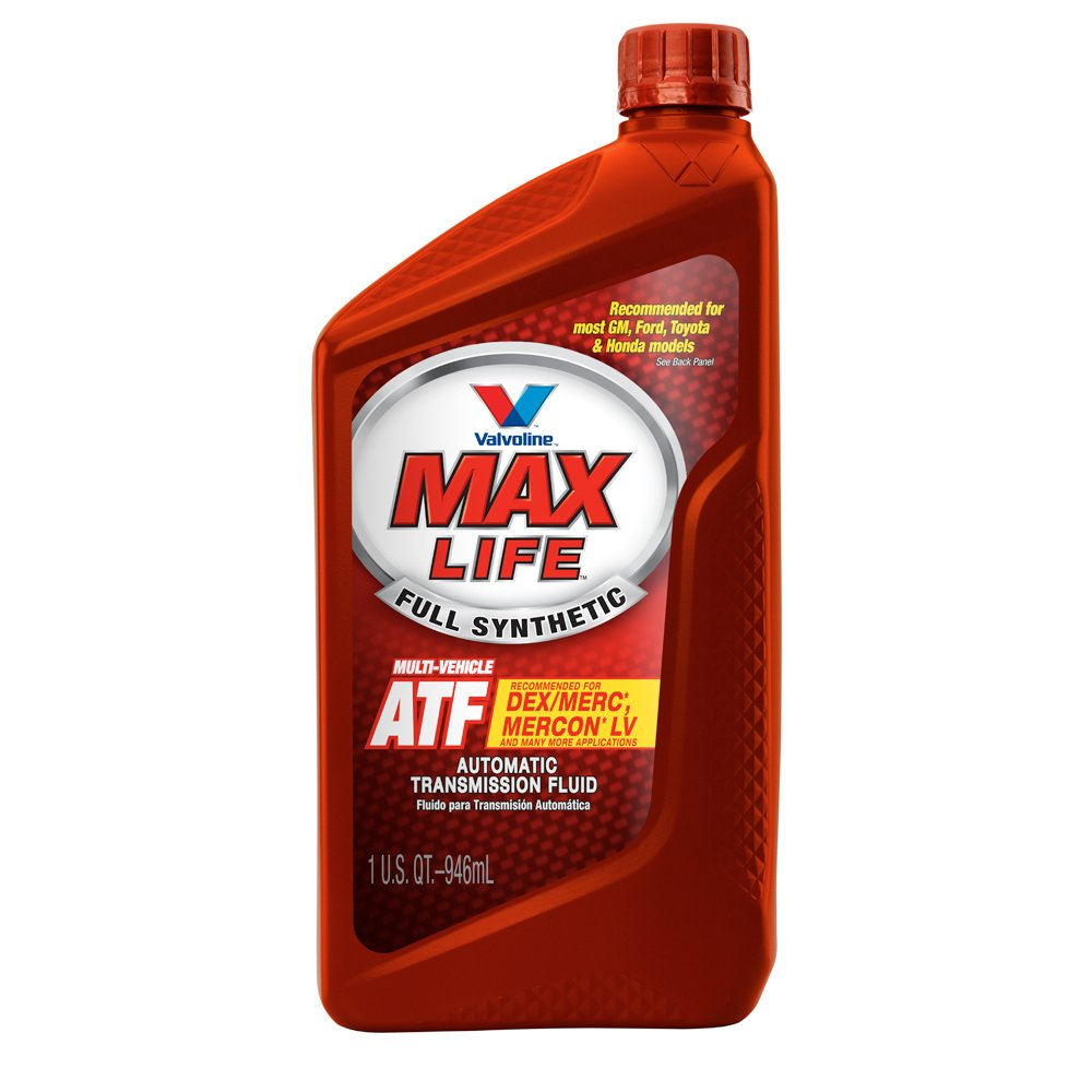 Valvoline MaxLife Full Synthetic Multi-Vehicle Automatic Transmission Fluid - 1qt (Case of 6) (VV324-6PK)
