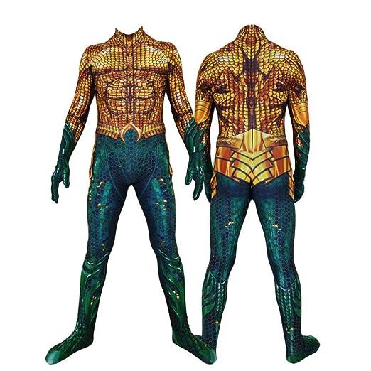 KYOKIM Aquaman Ropa NiñO Adulto Vestido Superhéroe Baile ...