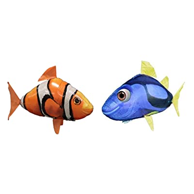 Air Swimmers Remote Control Flying Regal Tang and Clownfish Bundle: Home Audio & Theater