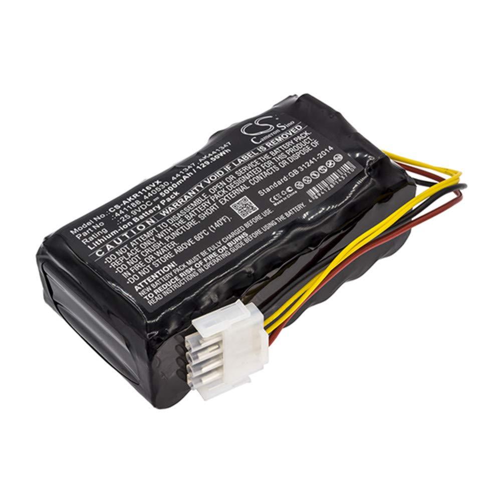 TEVAN Replacement Battery for 5000 mAh Li-ion AL-KO 4000 440530 441188 Robolinho 116 Robolinho 82.8 by TEVAN