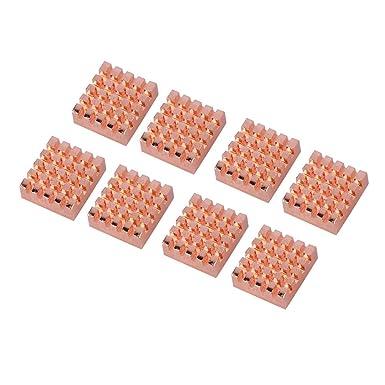 Amazon.com: ASHATA CPU disipador de calor, 8 piezas ...