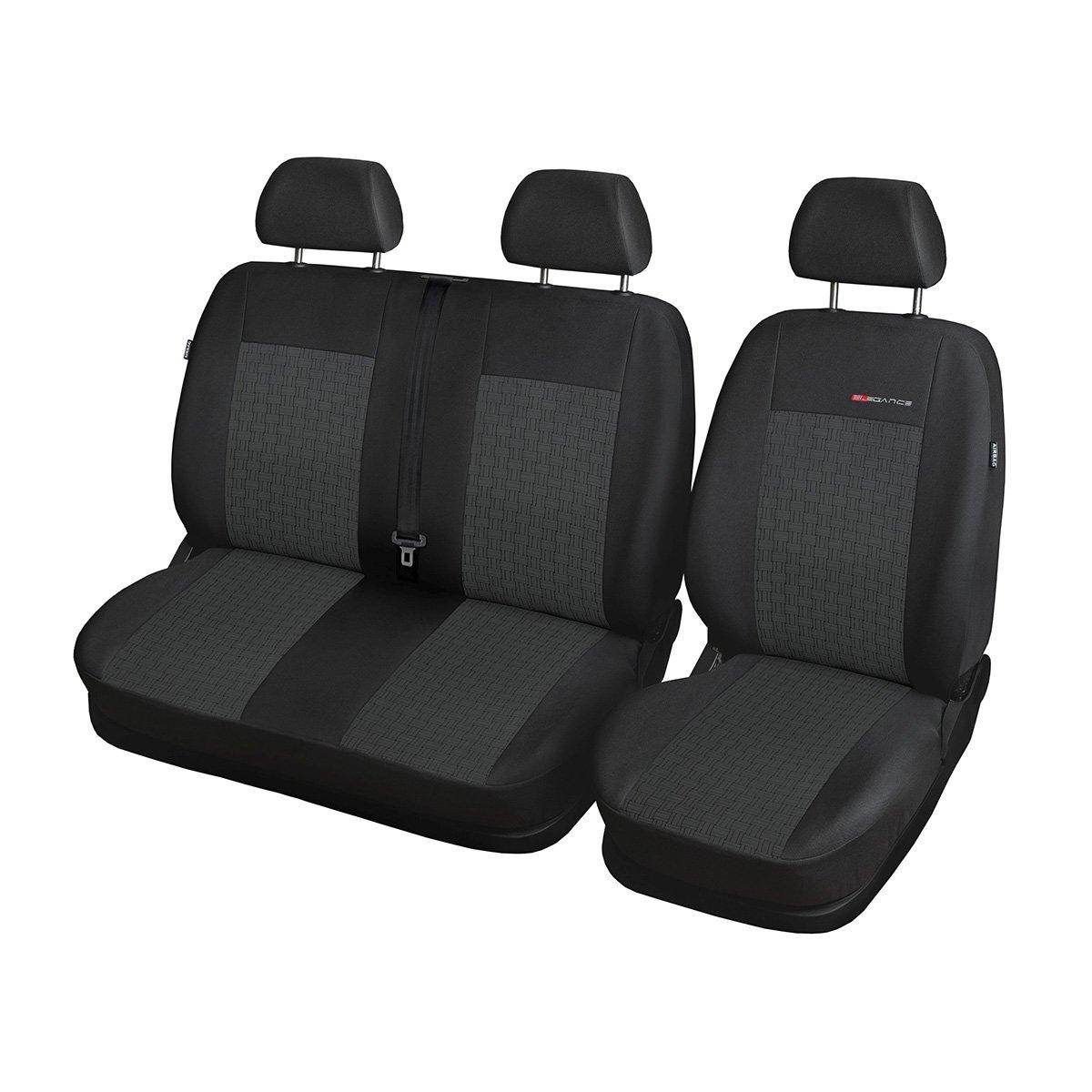 Elegance (E1) (maß geschneidert) - Autoschonbezug-Set (3-Sitzer) - 5902311269129 Mossa