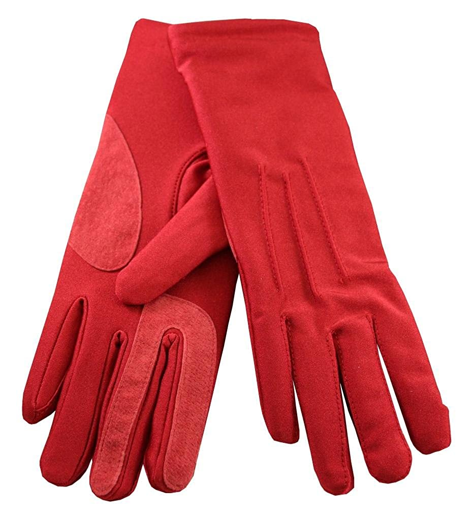 Ladies leather gloves isotoner - Isotoner Black Classics Spandex Gloves W Warm Lining At Amazon Women S Clothing Store Cold Weather Gloves