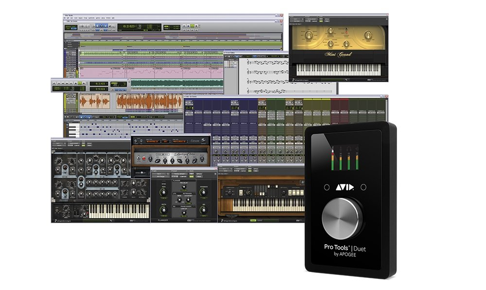 Avid Pro Tools Duet - with Perpetual Pro Tools License