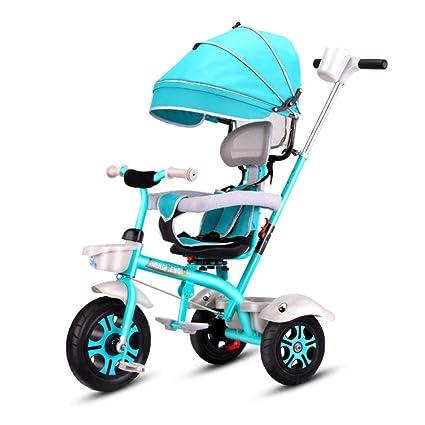 CHRISTMAD Hat Triciclo para Niños, Bicicleta De 3 Ruedas para Niños Pequeños, Bicicleta con
