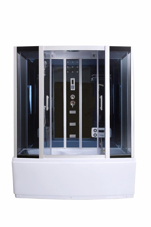 Vapor ducha cabina bañera cristal  sauna 3 in1 LXW js613