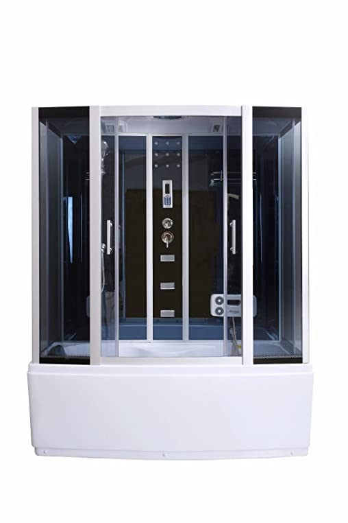 Dampfdusche Duschkabine Badewanne Glasdusche Sauna 3in1 LXW-JS613 ... | {Duschkabine badewanne 46}