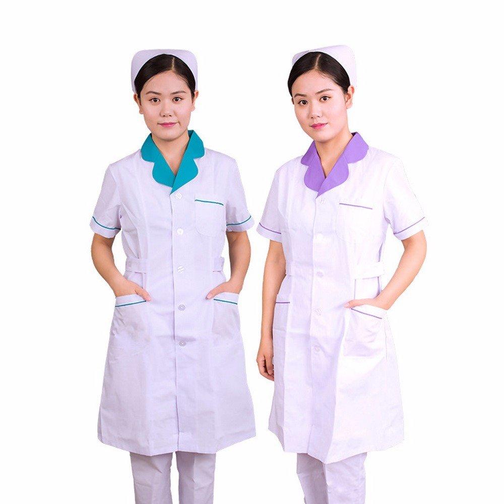 Xuanku Belleza, Ropa De Trabajo, Médico, Ropa, Enfermeras, Batas Blancas, Droguerias, Uniformes, Uniformes Médicos, Uniformes De Enfermera: Amazon.es: Ropa ...
