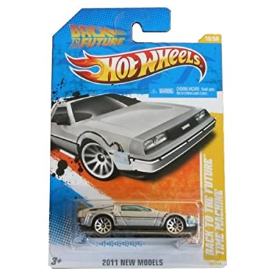Hot Wheels 2011-018 New Models 18/50 Back To The Future Time Machine 1:64 Scale: Toys & Games