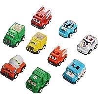 Mini coches juguete Tire de los coches Hacia