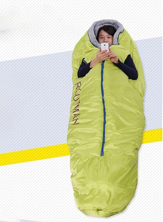 Saco de Dormir Adulto Duro de Invierno de Doble Bolsa de Dormir Saco de Dormir de: Amazon.es: Juguetes y juegos