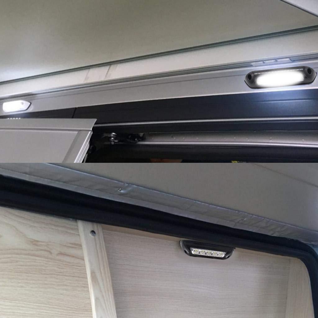 Sourcingmap 15pcs 12V BA9S White LED Instrument Dashboard Light Indication Lamp