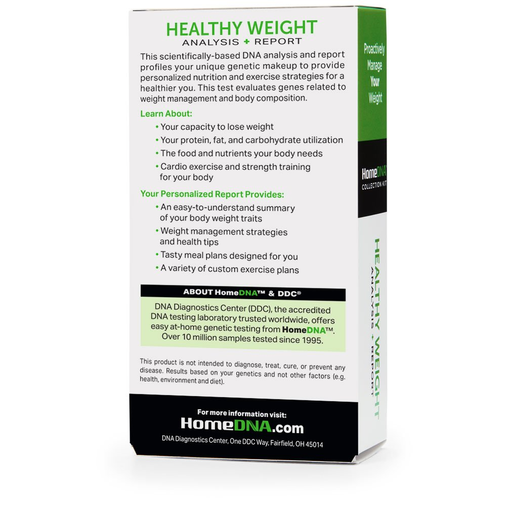 d49f37fbea6 Amazon.com: HomeDNA Healthy Weight Test: Health & Personal Care