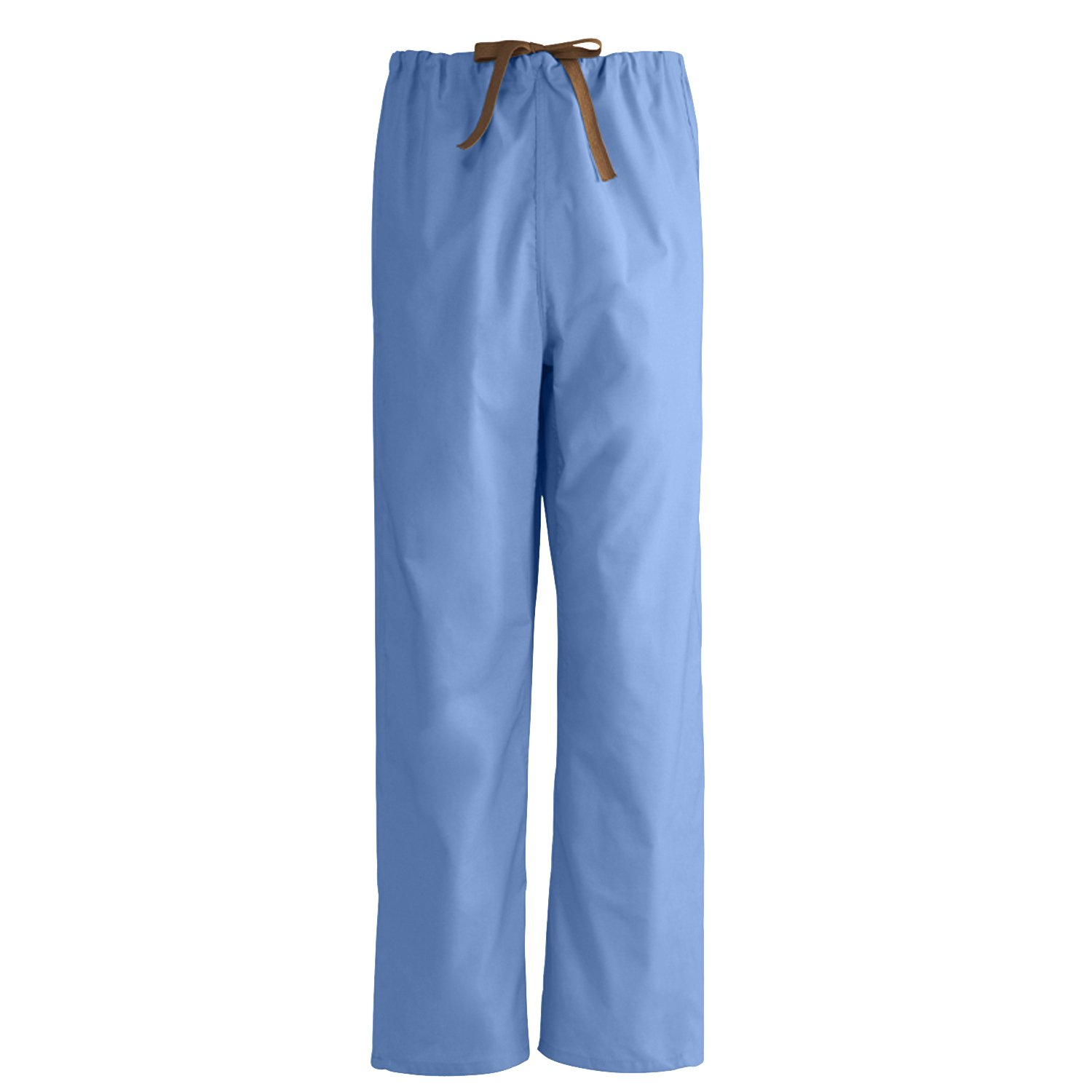 Medline Unisex 100% Cotton Reversible Scrub Pant, Large, Ceil Blue