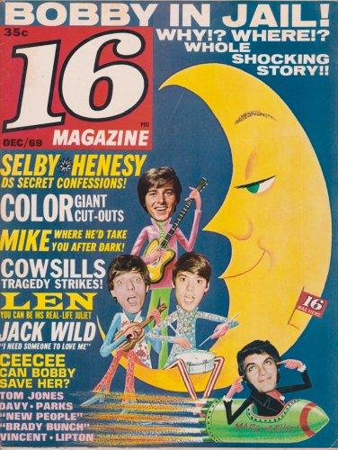 16 Teen Arsenal DARK SHADOWS David Selby & David Henesy BOBBY SHERMAN Davy Jones THE MONKEES Leonard Whiting THE COWSILLS December 1969