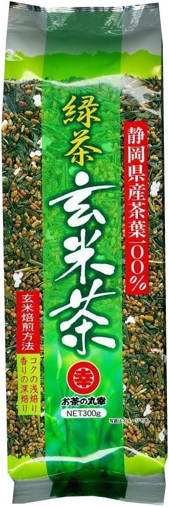 お茶の丸幸 緑茶玄米茶 300g