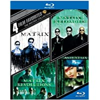 The Matrix Collection: 4 Film Favorites [4 Discs] [Blu-ray]