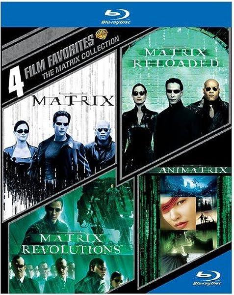 4 Film Favorites: The Matrix Collection Edizione: Stati Uniti Italia Blu-ray: Amazon.es: Warner Home Video: Cine y Series TV