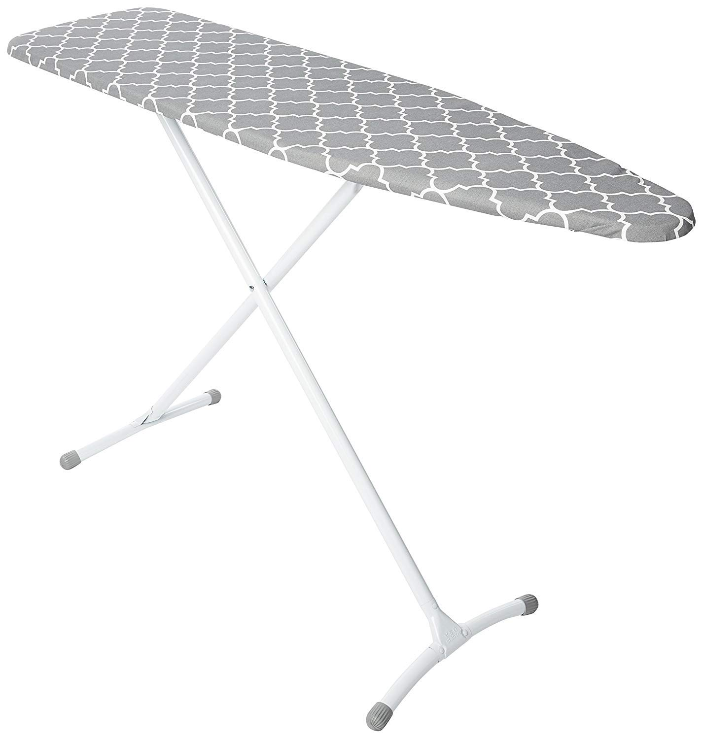 Homz Contour Steel Top Ironing Board, Grey & White Filigree Cover (Pack of 2) by Homz (Image #2)