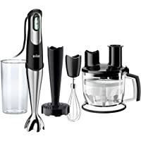 Braun MultiQuick 7, Hand Blender & Food Processor, MQ 777, Black