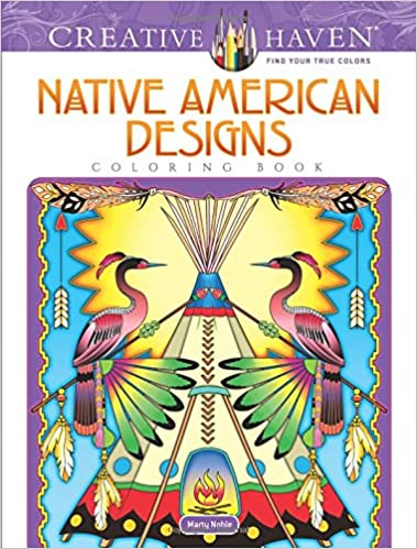 Creative Haven Native American Designs Coloring Book (Adult ...