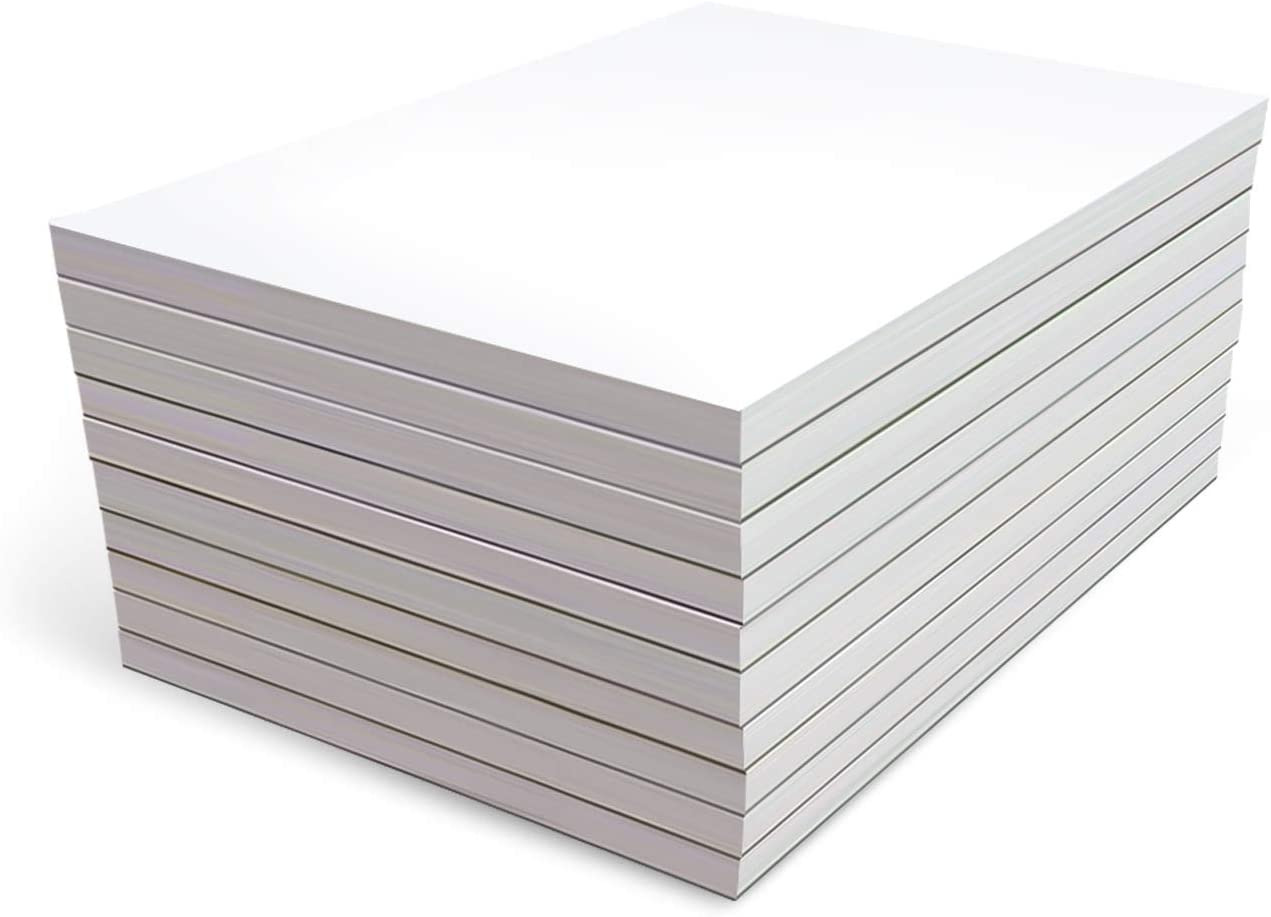 Memo Pads - Note Pads - Scratch Pads - Writing Pads - 10 Pads with 50 Sheets in Each Pad (4 x 6 inches)