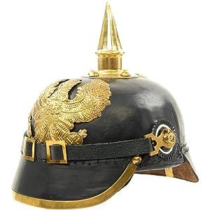 Imperial German Spiked Pickelhaube Officer Helmet