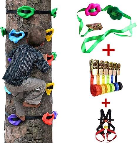 HSJCZMD Juego de accesorios de escalada para niños, para ...