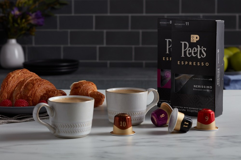 Peet's Coffee Espresso Capsules Variety Pack, 10 Each (40 Count) Compatible with Nespresso OriginalLine Brewers, Single Cup Coffee Pods by Peet's Coffee (Image #8)