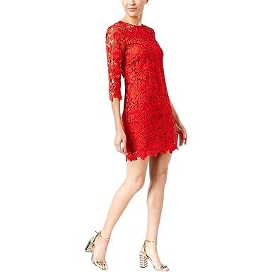 44431f612dbeaf Amazon.com: Trina Turk Women's Rowen Dress Pagoda Red 4: Clothing