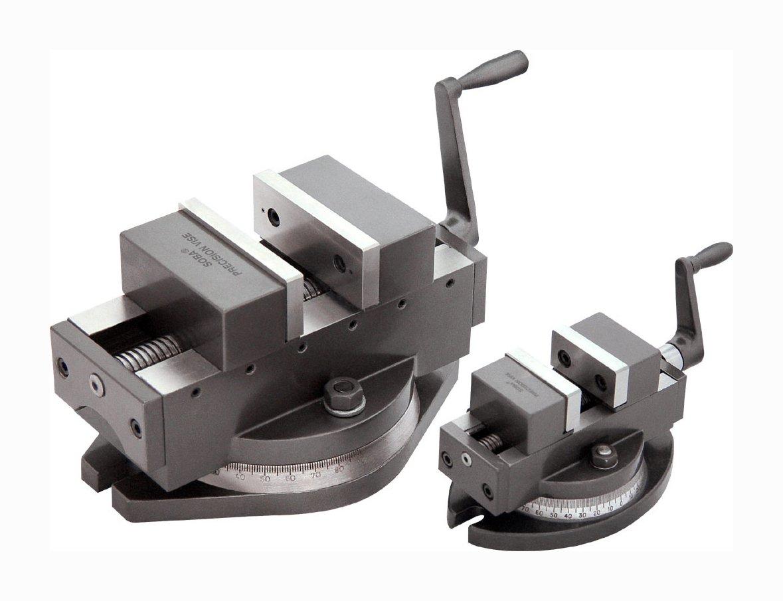 Selbstzentrierender Prä zisionsmaschinenschraubstock 100 mm Breite mit Drehteller SOBA